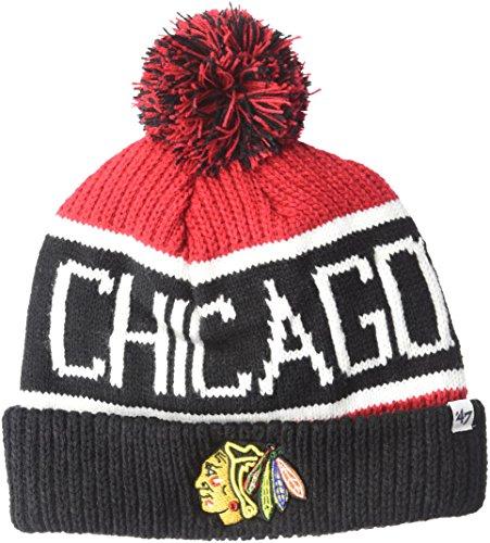 47 Brand Chicago Blackhawks Wraparound NHL Wintermütze