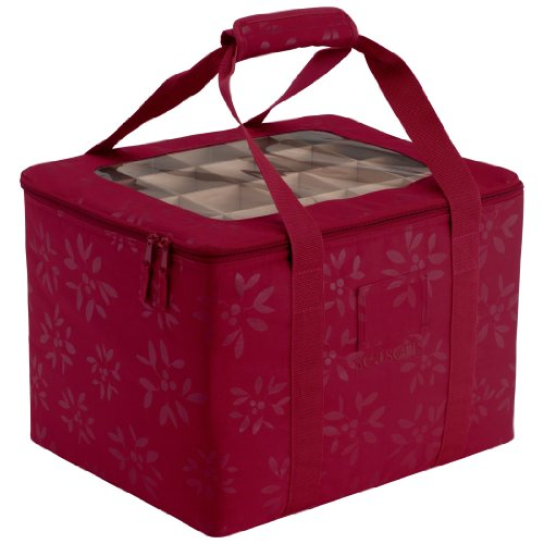 Classic Accessories Seasons Christmas Tree Ornament Organizer & Storage Bin