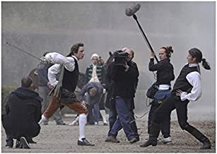 A Royal Affair Mads Mikkelsen as Johann and Mikkel Boe Følsgaard as Christian Fighting and Film Crew 8 x 10 inch photo