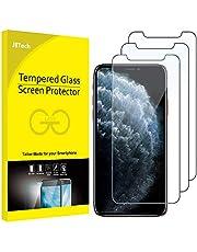 JETech Screen Protector Gehard Glas voor iPhone 11 Pro, iPhone Xs en iPhone X, Tempered Glass, 3-Stuks