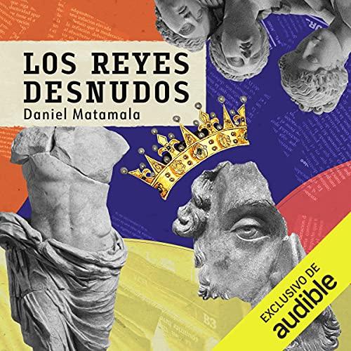 Diseño de la portada del título Los reyes desnudos