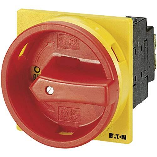Eaton 038873 Hauptschalter, 3-polig, 20 A, not-aus-Funktion, 90 Grad, abschließbar in 0-Stellung, Einbau