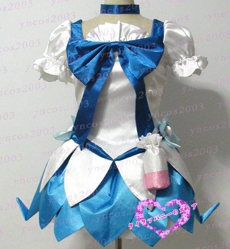 『コスプレ衣装♪ハートキャッチプリキュア!キュアマリン 靴付き コスチューム、コスプレ』のトップ画像