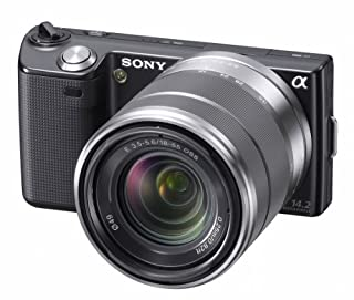 Sony NEX-5KB Systemkamera (14 Megapixel, 7,5 cm (3 Zoll) Display) mit 18-55mm Objektiv schwarz (B003NJVY0U) | Amazon price tracker / tracking, Amazon price history charts, Amazon price watches, Amazon price drop alerts