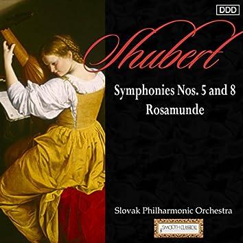 Schubert: Symphonies Nos. 5 and 8 - Rosamunde