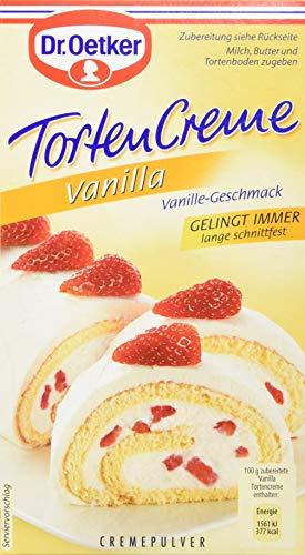 Dr. Oetker Vanilla Tortencreme, 11er Pack (11 x 1 St. Packung)