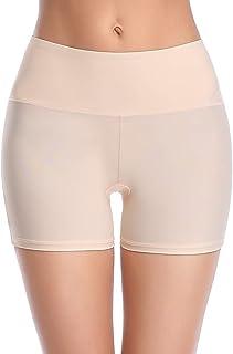 Pantalones Cortos Mujer, sin Costuras, antirozaduras, Ultra Finos, antirozaduras, Pantalones Cortos Lisos, Pantalones Cortos para niño