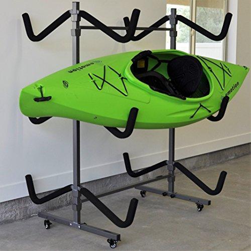 Ajillis 71 Kayak Storage Rack, Gray