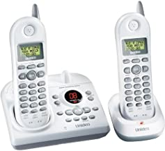 Uniden Dxai4588-2 2.4 Ghz Dual Handset Extended Range Compact Cordless Phone With Answering System & Call Waiting Caller Id