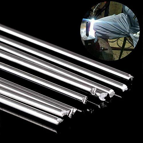 Dastrues Schweißstäbe, einfach zu Schmelzen, Aluminium, 1,6 x 45 cm, niedrige Temperatur, kein Lötpulver nötig, 10 Stück