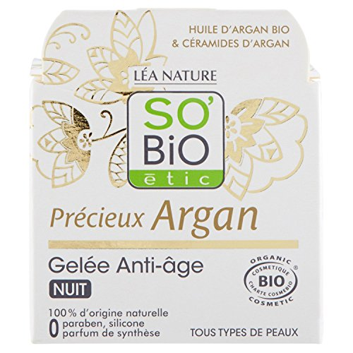 SO BiO Etic prezioso di Argan Jelly Notte Anti-Aging