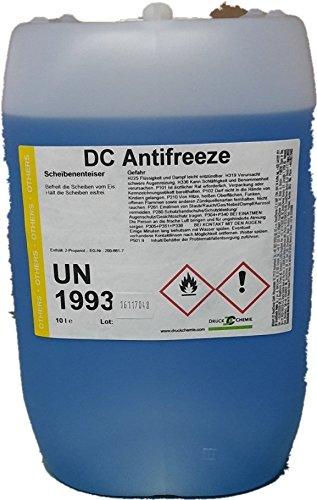 DC Antifreeze Scheibenenteiser 10 Liter Kanister - Entfroster - Defroster