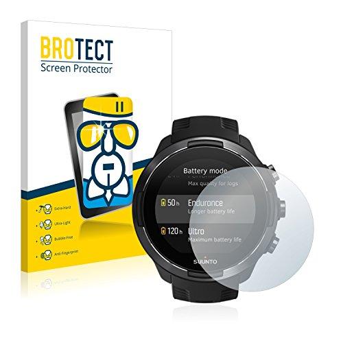 brotect Pellicola Protettiva Vetro Compatibile con Suunto 9 Schermo Protezione, Estrema Durezza 9H, Anti-Impronte, AirGlass