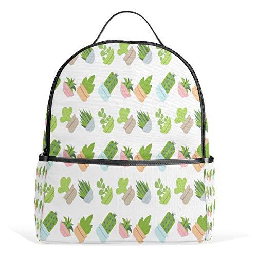 DEZIRO Wasserfarben Fleisch Pflanzen Muster Wandern Tagesrucksack Rucksäcke Tagesrucksack Reisetasche