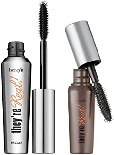 bac8a0a0e66 Benefit Cosmetics They're Real Mascara 2 Piece Full Size and Mini Big Steal  Set