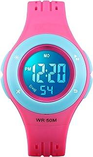 Kids Watch Boys Sports Waterproof Led Digital Watches...