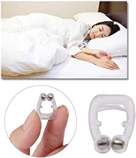 iwobi Anti-Russamento,2 pezzi Dilatatore Nasale Antirussamento per Apnea Notturna e Congestione Nasale Magnetic