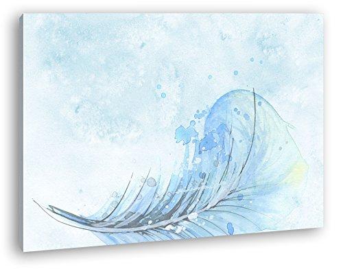 Dibujo una fallenden Muelle como Lienzo, diseño Enmarcado en Marco de Madera, impresión Digital Marco, no es un póster o Cartel, 120 x 80