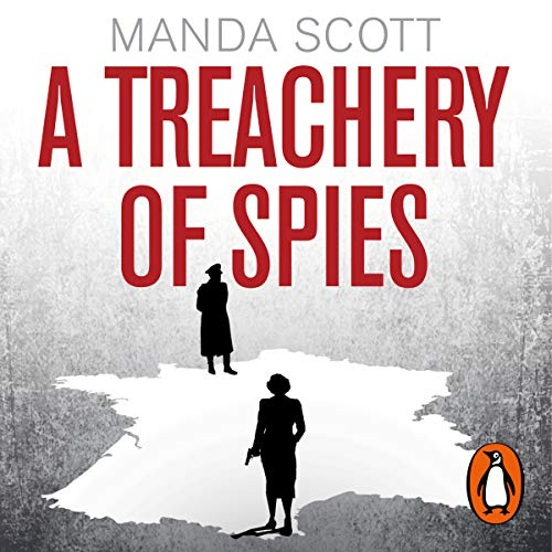 A Treachery of Spies audiobook cover art