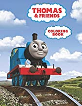 Thomas and Friends Coloring Book: Thomas The Train Great Coloring Book for Kids (Children Age 3-12+)