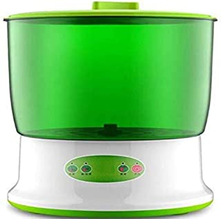 DWLXSH Bean Sprouts Machine Intelligence Electrical Seed Sprouts Maker 2 Layers Large Capacity Thermostat Sprouter DIY Bean Sprouts Safer and Healthier