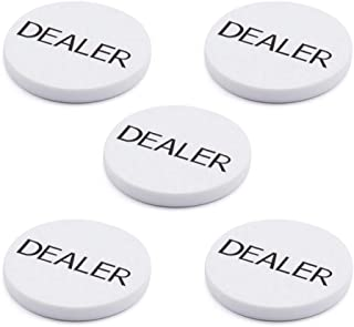 GSE Games & Sports Expert Casino Texas Hold'em Poker Game Dealer Buttons (3 of Sets Available)