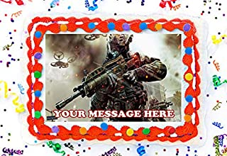 Call Of Duty Cake Topper Edible Image Personalized Cupcakes Frosting Sugar Sheet (8