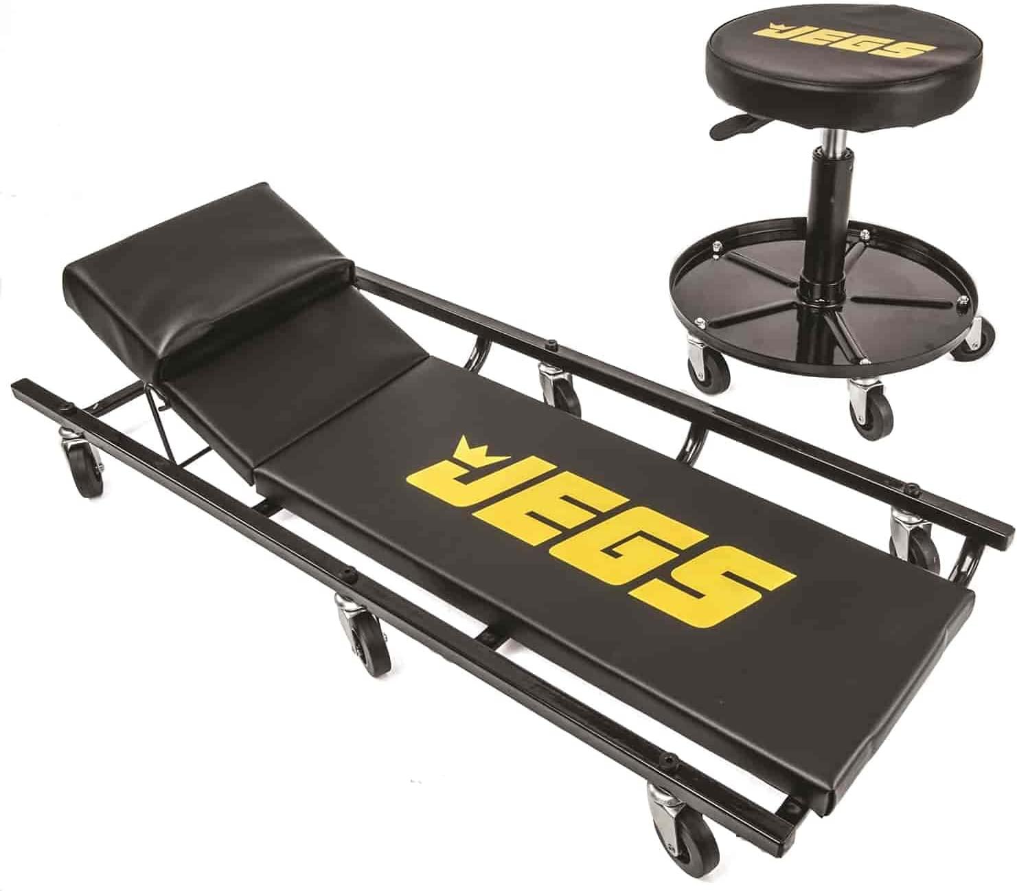 JEGS Creeper All Max 79% OFF items free shipping and Air Seat Black 350 Creep with Logo LBS