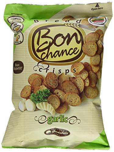 Bon Chance Brot-Chips mit Knoblauch Geschmack, 12er Pack (12 x 120 g)