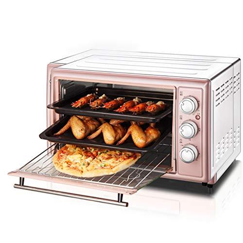 ZXYZZ elektrische oven bakken thuis automatische multifunctioneel 30 liter grote capaciteit cake brood kleine elektrische oven veiligheid hoog kan pizza cake braadkip