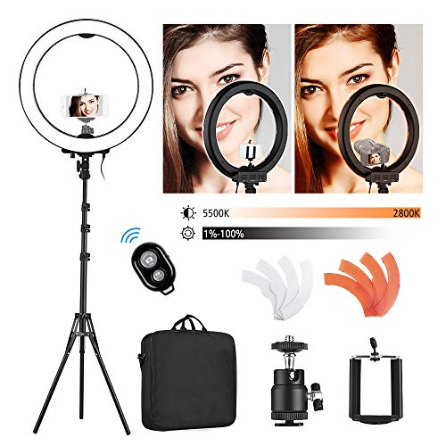 Andoer Ring Light 18 pollici Esterno con...