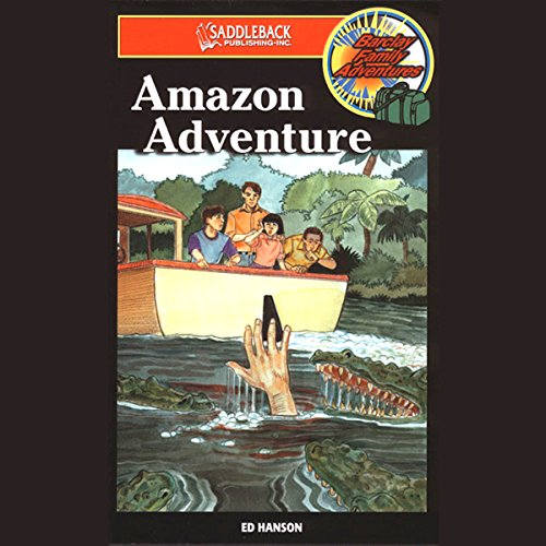 Amazon Adventure audiobook cover art