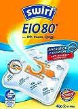 3 Pakete Swirl Staubsaugerbeutel EIO80 / EIO 80 MicroPor Plus AirSpace für EIO , Alaska, Hanseatic