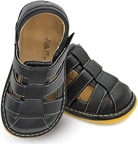 Little Max 40% OFF Mae's Popular Boutique Closed Toe Squeaky for Toddler Boy Sandals