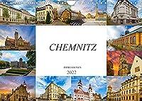 Chemnitz Impressionen (Wandkalender 2022 DIN A4 quer): Zu Besuch in der Stadt Chemnitz (Monatskalender, 14 Seiten )