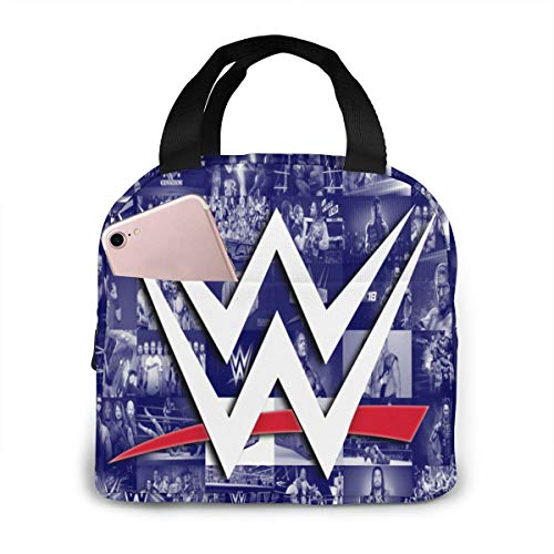 Ww-E Lunch Boxes For Boys, Insulated Lunch Bag Tote, Brief Case Lunch Box, Cooler Thermal Lunch Box Bag