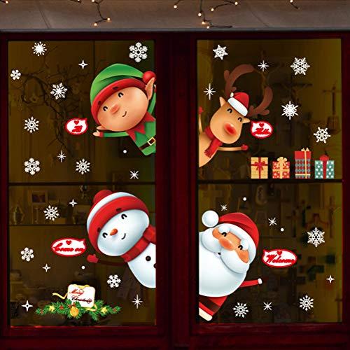 Pegatinas De Navidad Arbol Fiesta Extraíbles Adorable