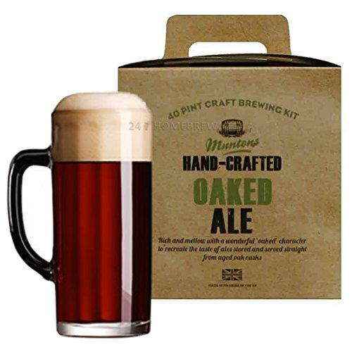 Muntons - Cerveza casera (madera de cerveza, 23 L, 3 kg)