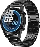 DT92 reloj inteligente hombres s Bluetooth llamadas IP68 impermeable frecuencia cardíaca presión arterial larga espera deportes mujeres smartwatch-A