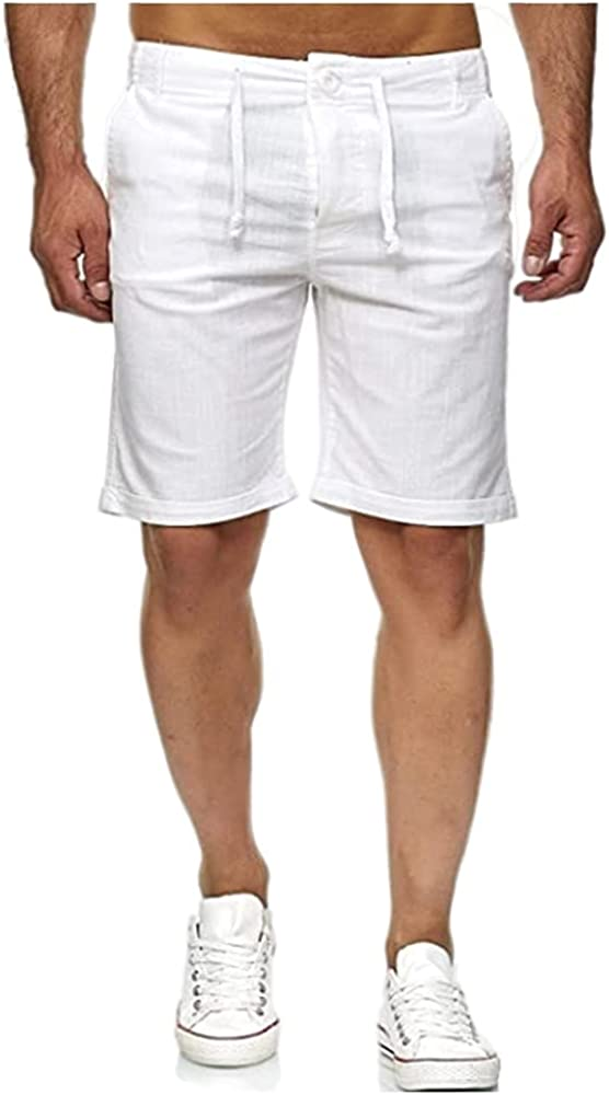 N\P Fashion Summer Solid lace up Casual All stores are sold Men's Pants Sports Shorts