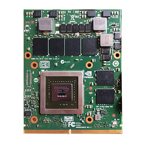 New for Dell Alienware 18 17 R1 R2 M15X M17X R2 R4 R5 M18X R2 R3 Gaming Laptop Graphics Video Card NVIDIA GeForce GTX 770M 3GB GDDR5 N14E-GS-A1 Upgrade MXM 3.0B VGA Board Replacement Parts