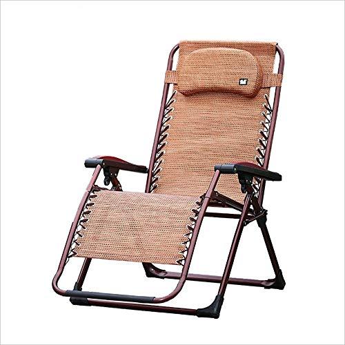 YLCJ Oversize nul zwaartekrachtstoel, klapstoel, zomerstrandstoel, tuinstoel, Siesta bureaustoel, opklapbare balkonstoelen