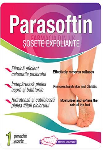 Parasoftin Peeling-Socken, Hornhautentfernung, weiche Füße entfernen abgestorbene Haut