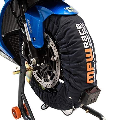 MPW Race Dept Digital Superbike Calentador de neumáticos 180-190/120 (gris oscuro)