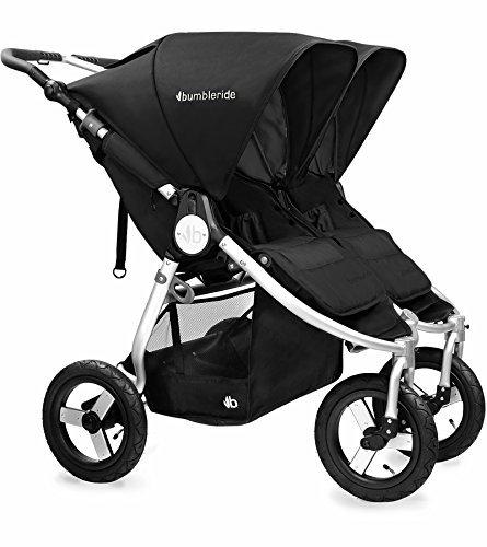 Bumbleride 2016 Indie Twin Stroller (Silver Black)