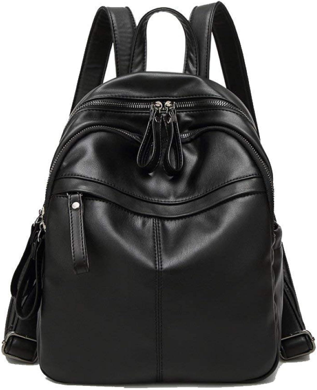 Eeayyygch Umhängetasche Damen-einfache Damen-einfache Damen-einfache Schulter-Taschen-zufällige Wilde Handtaschen-modische Mode-Spielraum-hohe Kapazitäts-Rucksäcke (Farbe   Schwarz, Größe   Einheitsgröße) B07JMVRL56 7ff28d