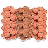 Ikea SINNLIG Duft-Teelichter Pfirsich und Orange – 120 Stück