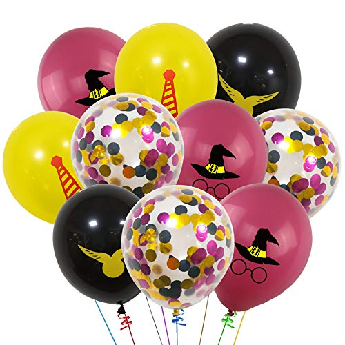 """40 PCS Balloons, 12"""" Latex Balloons Color Confetti Balloons Kit for Baby Birthday Party Baby Shower Party Supplies"""
