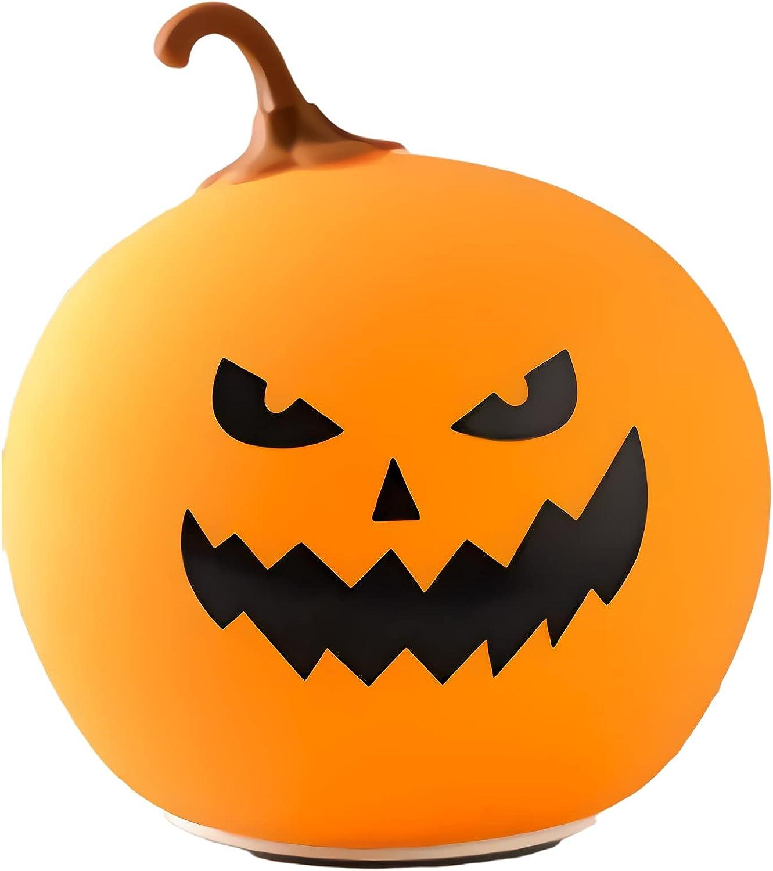 Halloween Pumpkin Lights Cute Kids 7 Max 44% OFF Light C Night Color Special sale item