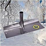 Cakunmik 40CM Erste Schneeschaufel, draußen. Benutzt Für Schneeräumung Industriemüll Blätter Schneeschaufel Tragbar Landwirtschaftliche Werkzeuge Rechen
